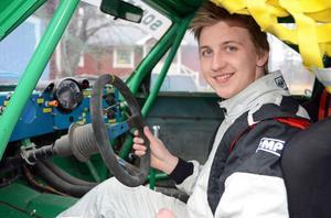 Marcus Höglund, Lima, var SM-fyra i juniorklassen rallycross förra året och i år siktar han högre...