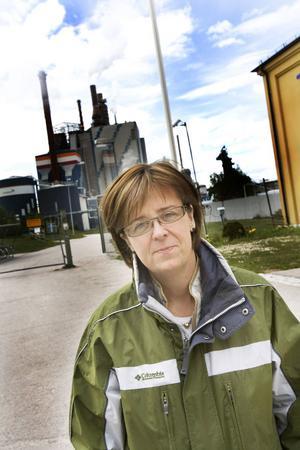 """Elisabet Salander Björklund var ansvarig för Stora Ensos massafabriker när beskedet om nedläggning av Norrsundet kom 2007. """"Det var en väldigt stor och svår fråga för Stora Enso. För mig personligen var det en av de svåraste dagarna i jobbet."""""""