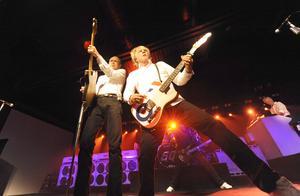 Status Quo på Högis 2010 med Francis Rossi och Rick Parfitt.