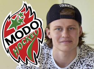 Emil Hedman lämnar Modo. Nu har han fått ett try out-kontrakt med ÖHF.