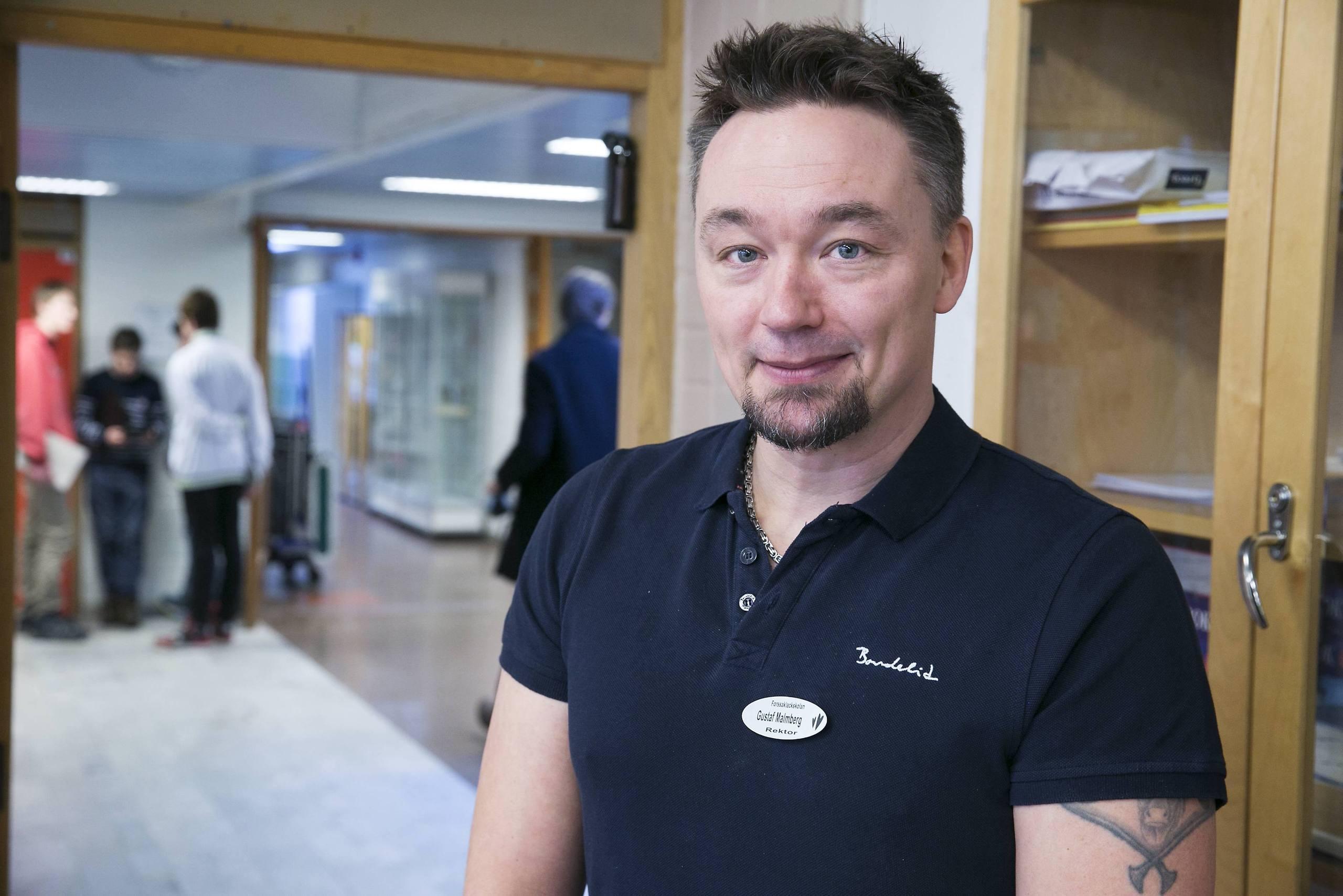 Gustaf Malmberg är chef för Falu kommuns grundskola och särskola (arkivbild).