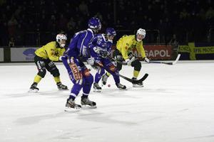 Arkivbild från när Motala och Ljusdal möttes i elitserien på Isstadion i december 2012. LBK vann med 6–3.