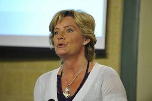 Folkhälsominister Maria Larsson, KD.