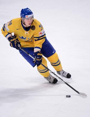 Erik Gustafsson vill gärna spela VM med Tre Kronor.