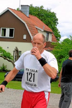 Bengt Englund, Sala, är törstig.