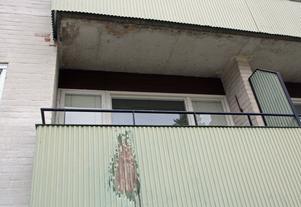 Balkongerna är enligt hyresgästföreningen i akut behov av upprustning.