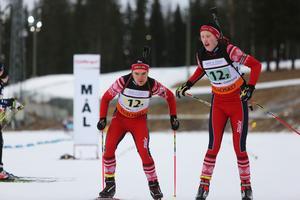 Simon Salomonsson tävlandes för Tullus växlar över till Oskar Olsson som körde den tredje och sista sträckan.