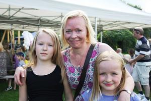 Rebecka, Catarina och Ida-Maria Boäng.