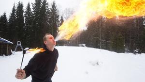 Fredrik Karlsson i trion Draco Spiritus.