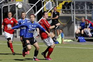Lisa Landin har bestämt sig. Hon lämnar ÖDFF. Ny klubb kan bli Ope eller Frösön.Arkivbild