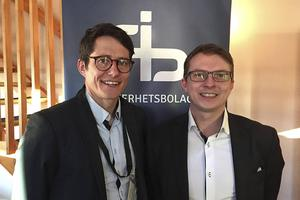 Bröderna Fredrik och Patrik Jonasson driver IT-säkerhetsbolaget AB.