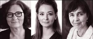 Ebba Witt-Brattström, Alice Teodorescu och Gunilla Brodrej är tre av paneldeltagarna i debatten om operasexism i Vattnäs konsertlada den 7 juli.