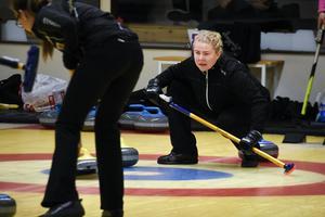 Skipper Margaretha Sigfridsson ledde sitt lag till segrar på Gärdehov. Hon och lagkamraterna är mitt uppe i en OS-satsning som förhoppningsvis ska ta vägen om en VM-framgång i mars.