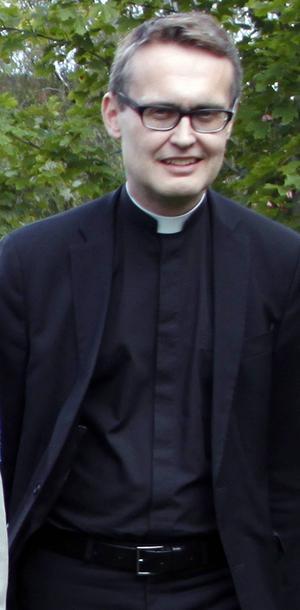Göran Lundstedt, präst i GA församlingen kandiderar till biskop.