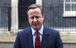 Storbritanniens premiärminister fram till onsdag 13 juli, David Cameron.