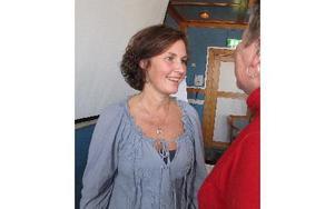 Juno Blom arbetar på länsstyrelsen i Östergötland som samordnare mot hedersförtryck. I Borlänge är hennes förläsningar fulltecknande. Foto: KARIN SUNDIN