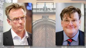 Björn Frithiof vid internationella åklagarkammaren och Khouris advokat Fredrik Ungerfält har olika uppfattningar om bevisningen.