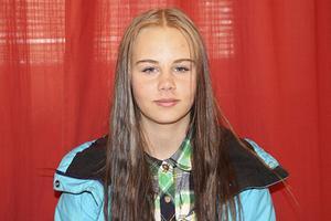 Nathalie Jönsson, 15 år.– Ljusdal. Den var väl bra. Bra framförande.