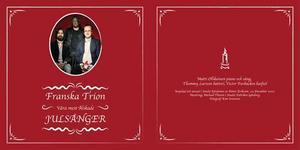 Franska Trion – som mäsk på julbordet.