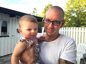 Staffan Kungen Wendelmark och hans dotter Prinsessan.