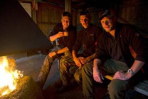 Martin, Mattias och Marcus Jonsson är alla överens om att den här delen av jakten är minst lika viktig.