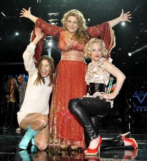 Caroline af Ugglas, Sarah Dawn Finer och Sofia Berntson