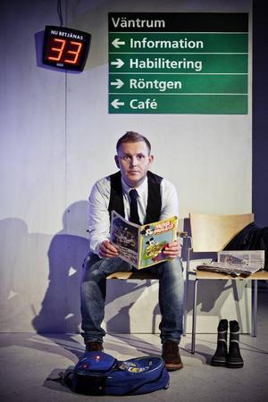 Måns Möller spelade på måndag kväll - och återkommer med samma föreställning även i vår.