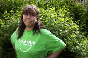 Monica Östman var med och startade föreningen Noaks Ark i Sundsvall i höstas, en stödförening för hivsmittade och deras anhöriga.