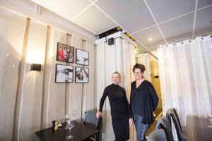 Anna Andersson och Anna Hållén äger och driver En Lokal i Avesta. Varje torsdag arrangerar de livemusik mitt i krogens restaurang.