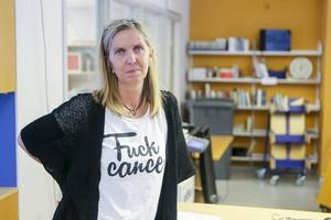 Anna Westling har engagerat sig i arbetet för att stötta andra som drabbas av cancer.
