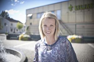 Therese Karlsson, 35 år, rådgivare, Avesta: – Nej, inte rädd, men jag har respekt för den.