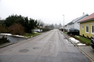 Lokattvägen i Olsbacka där tomträttspriserna höjs med i snitt 280 procent.