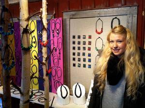 Hanna Enander från Hudiksvall är ny i Mellanfjärdens Hamnmagasin i år.
