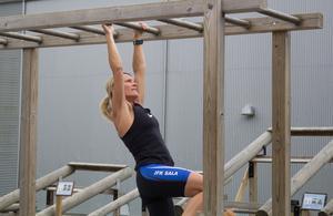 Elin Bergqvist Maclean är trött på att få gliringar för att hon tränar hårt.