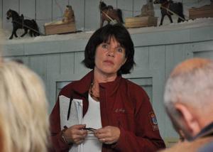 Kristina Jonsson på länsstyrelsen säger att lokala jakt- och fiskefrågor kommer att få svar längre in i processen.