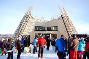 Restaurang Tusen invigdes i vintras.