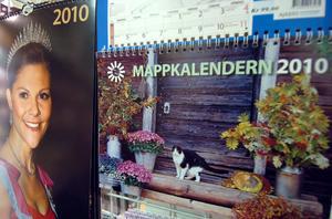 Kalendrar finns i alla möjliga format, både på höjden och på bredden.