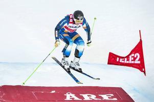Victor Öhling Norberg, Funäsdalen, var kvalsnabbast i Åre inför världscuptävlingen i skicross lördag.