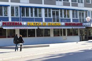 Västeråsklassiker. Piazza Di Spagna erbjuder allt från kött, fisk och pasta på lunchen, förutom sina klassiska pizzor.