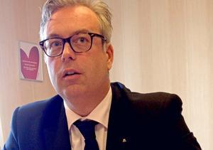 Ulrik Bergman vill se över möjligheterna att låta Borlänge växa på höjden.