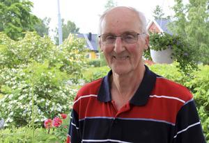 Ett av Karl-Anders intressen är trädgårdsarbete.