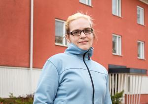 Jessica Zyrenia är nyvald ordförande i Astma- och allergiförbundets avdelning i Västerås.