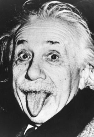 Vetenskapsmannen Albert Einstein, byter låt?