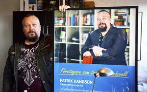 Patrik Hansson fick priset som årets IT-profil på Sundsvall Business Awards.