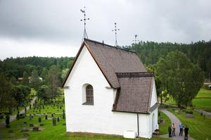 I sommar är Njutångers kyrka stängd för renovering.