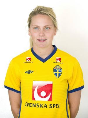 Lisa Dahlqvist, född 1987 i Stockholm, spelar i PSG, Frankrike.