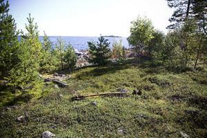 4. Det var troligen på den här platsen som J. W. Sandströms märkliga farkost strandade på Ingaskär.