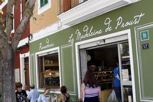 Mysiga kaféet La Madeleine de Proust.