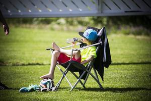 Solstol och värme. Det är också en del av Storsjöcupen.   Arkivbild: Stefan Nolervik