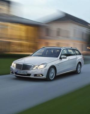 Nya Mercedes E-klass kommer nu som kombi.Foto: Daimler
